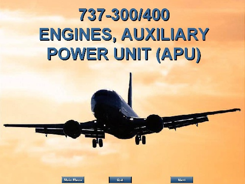 ENGINES(APU) B737
