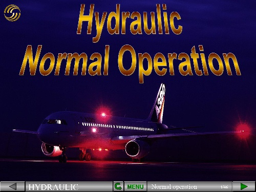A320 HYDRAULIC NORMAL OPERATION