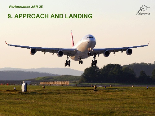 APPROACH AND LANDING PERFORMANCE JAR25